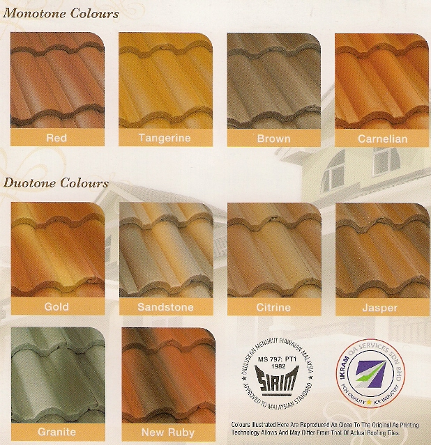 Roofing Tiles Vintage Roofing Tiles Malaysia